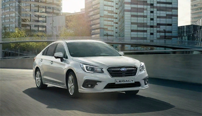 Во всех официальных дилерских центрах стартовали продажи Subaru Legacy