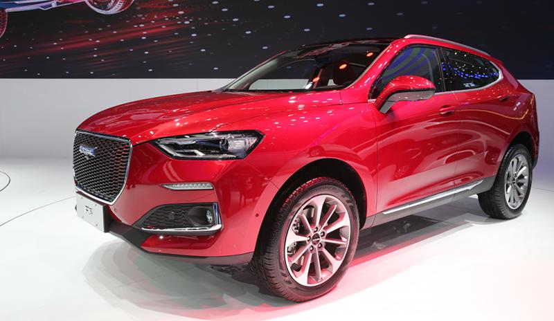 На Международном Пекинском автосалоне Haval представил новый кроссовер F5
