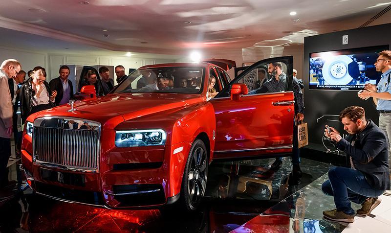 Rolls-Royce:В России дебютировал Rolls-Royce Cullinan