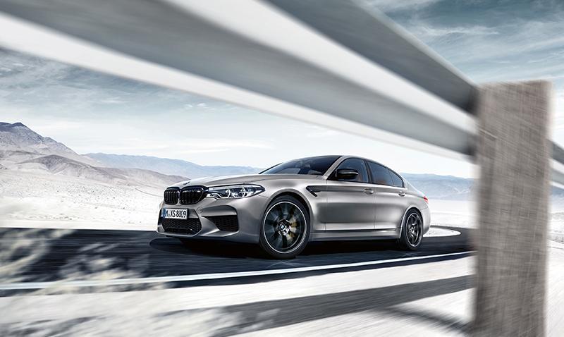 BMW представляет новый BMW M5 Competition