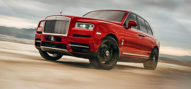 Rolls-Royce:Rolls-Royce представляет новый внедорожник Cullinan