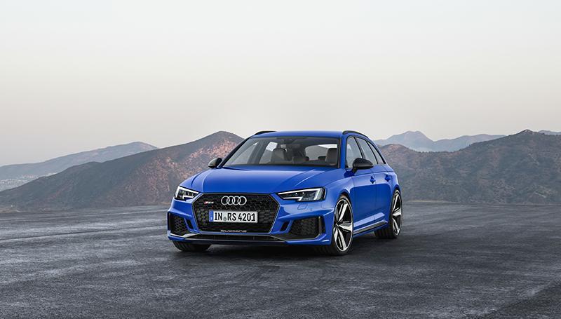 Российская премьера спортивного универсала Audi RS 4 Avant 2018