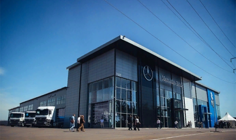 Mercedes-Benz:В Оренбурге прошло открытие нового дилерского центра Mercedes-Benz
