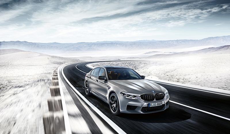 В России доступен новый BMW M5 Competition со специальным пакетом M Special