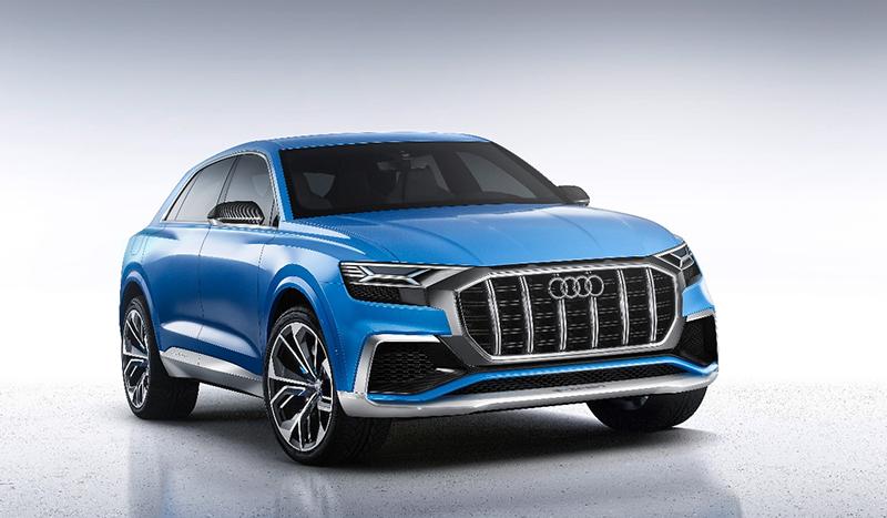 Audi:Audi выпустил короткий сериал с новым полноразмерным кроссовером Q8 в главной роли
