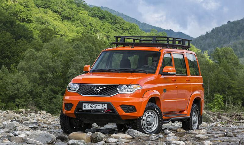 Стартовала продажа новой экспедиционной спецверсии УАЗ Патриот