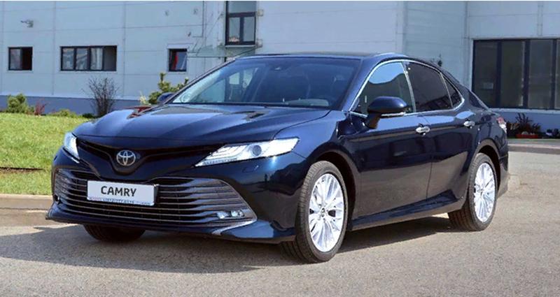 Toyota отметила успешный запуск производства новой Camry и 10-летний юбилей завода