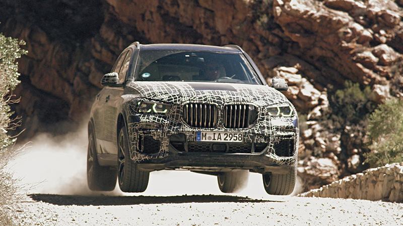BMW проводит испытание нового X5
