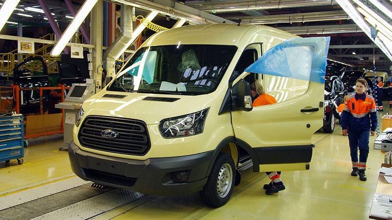 Ford:Ford Sollers стал одним из ведущих поставщиков инкассаторских фургонов в России
