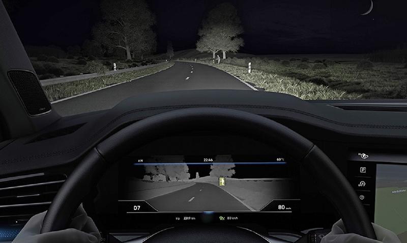 Volkswagen Touareg оснастили системой ночного видения Night Vision