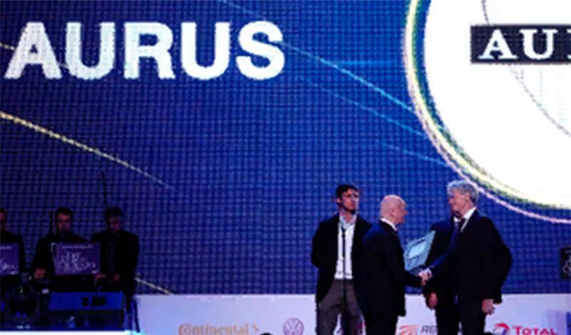AURUS получили заслуженную награду «Прорыв года»
