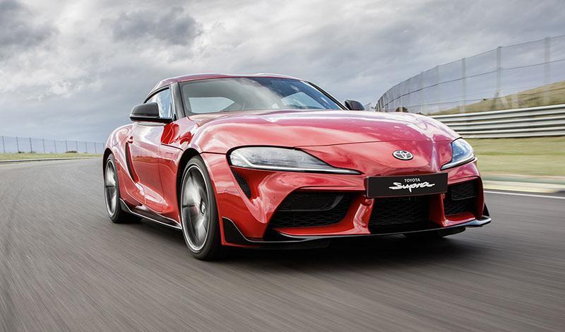 7 дней осталось до старта начала продаж Toyota Supra
