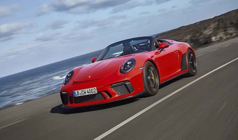 Новый 911 Speedster мощностью в 510 л.с. идет в серийное производство