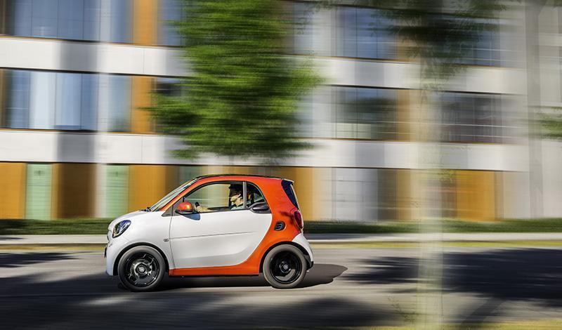 Smart:Smart fortwo от 800 000 рублей