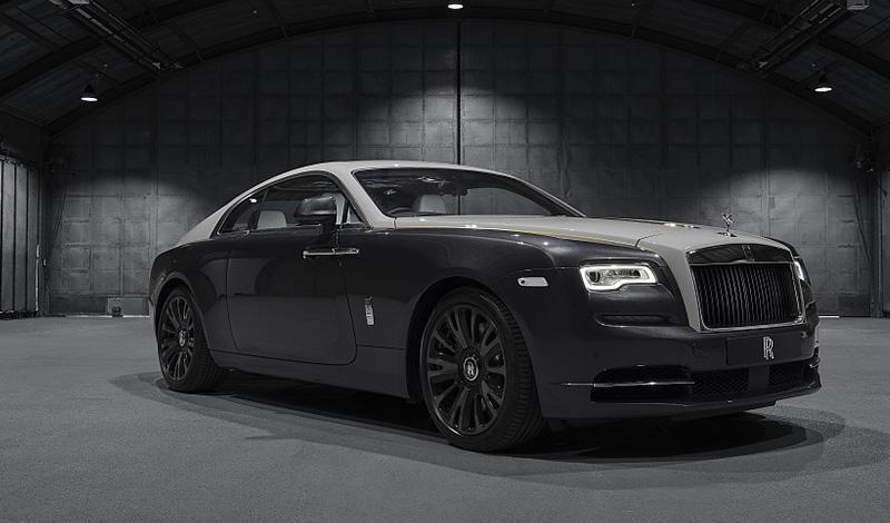Rolls-Royce:24 мая в Италии Rolls-Royce представит эксклюзивную серию «Wraith Eagle VIII Collection»