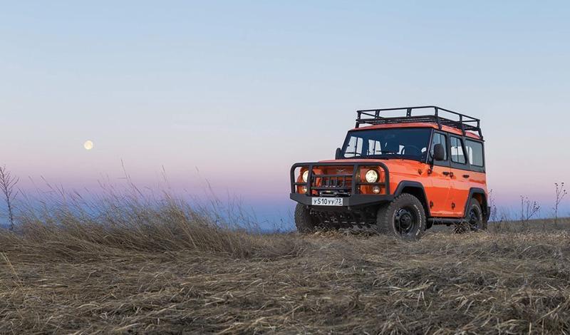 UAZ:В России стартовали продажи внедорожника УАЗ Хантер Экспедиция