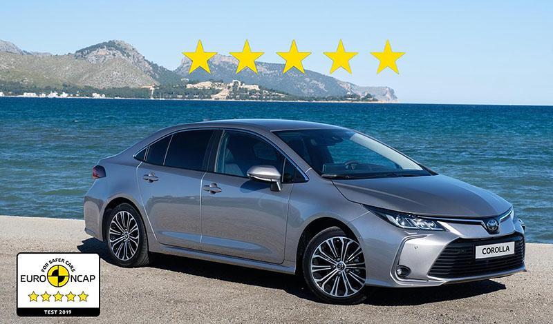 Toyota Corolla 2019 года и RAV4 2018 года получили максимальную оценку 5 звезд в рейтинге Euro NCAP