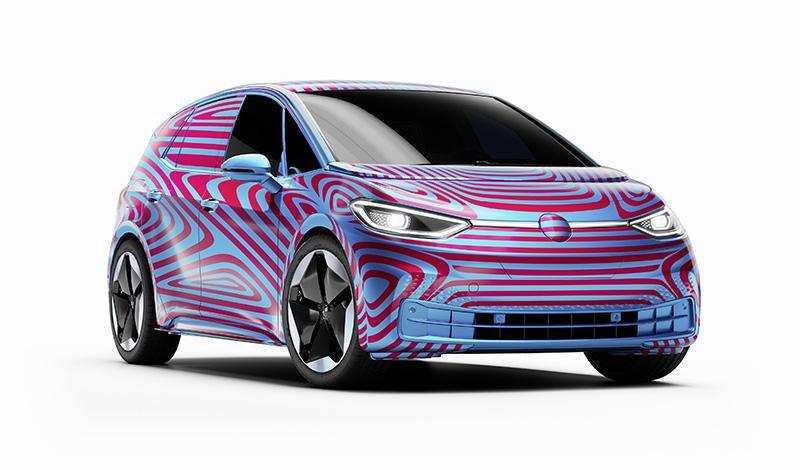 Volkswagen анонсировал название первой модели нового семейства – ID.3