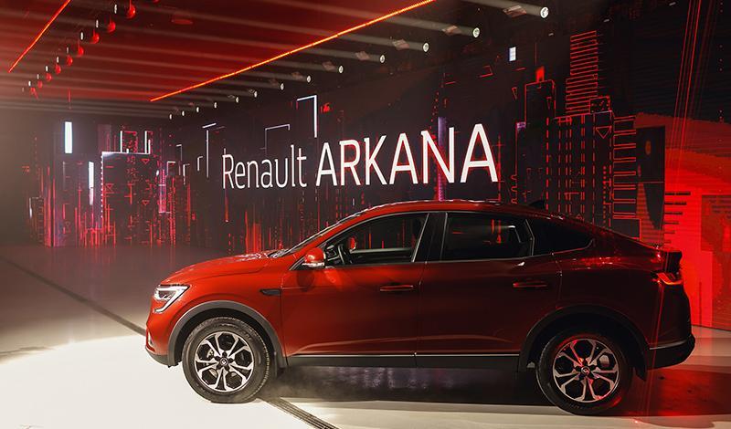 В парке «Зарядье» прошла мировая премьера нового купе-кроссовера Renault ARKANA