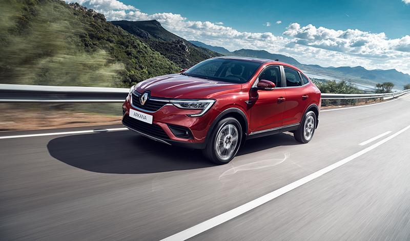Продажи Renault ARKANA стартуют летом 2019 года по цене от 1 419 990 рублей за топовую версию Edition One