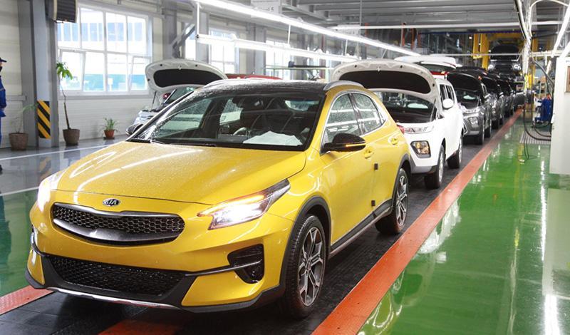 Производство KIA XCeed 2019 начали в Калининграде