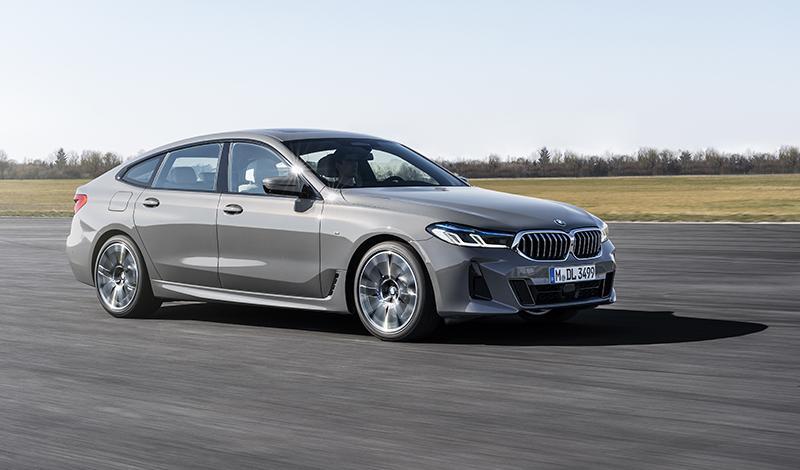 Лифтбек BMW 6 GT обновился