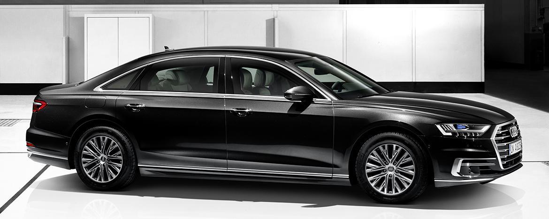 Представлен Audi A8 L Security с круговым классом защиты VR9