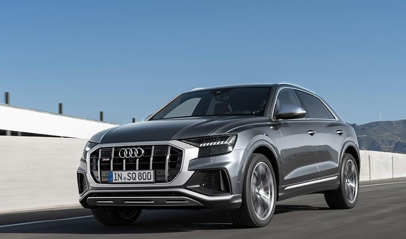 Audi SQ8 2020 доступен  к заказу от 7 100 000 рублей