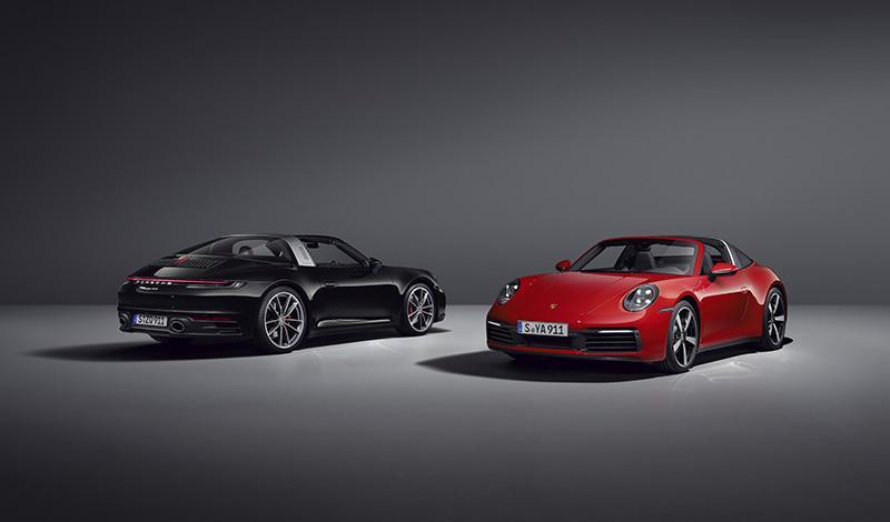 Представлены  Porsche 911 Targa 4 и  Porsche 911 Targa 4S 2020