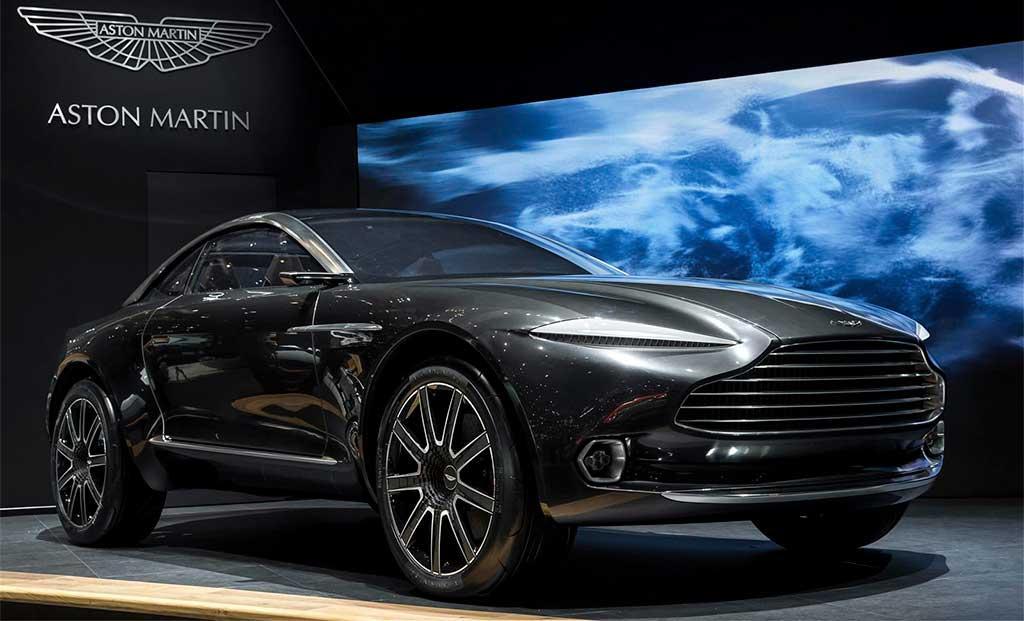 Кроссовер от Aston Martin дополнит движок  от Mercedes-AMG