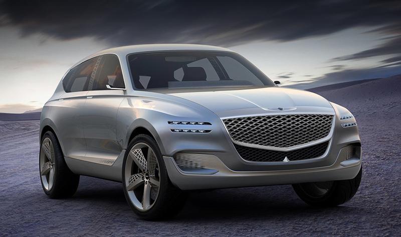 Genesis:В автомобильном ряде марки Genesis появятся 3 новые модели