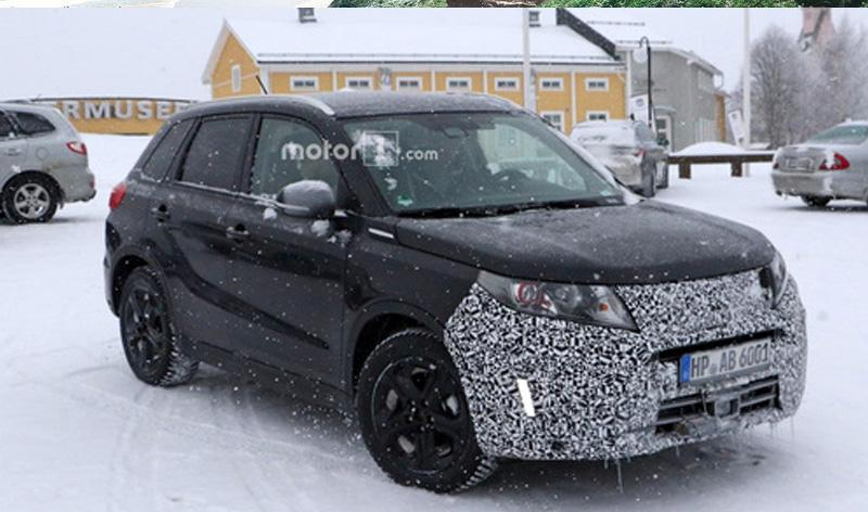 Suzuki:Suzuki тестирует новую Vitara