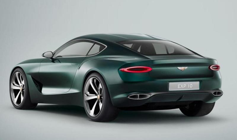 Bentley:Новое поколение Continental GT от Бентли