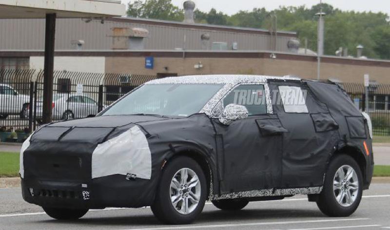 Chevrolet:Возрождение внедорожника Blazer
