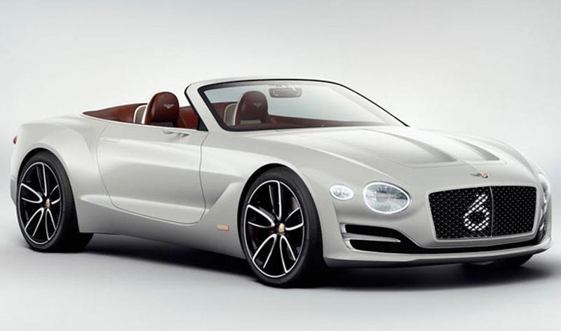 Bentley:Компания Bentley вместо кроссовера выпустит электрический спорткар
