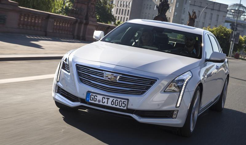 Уже совсем скоро Cadillac презентует в России седан CT6