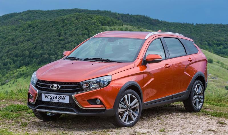 Озвучена стоимость автомобиля-универсала марки «Lada Vesta SW Cross»