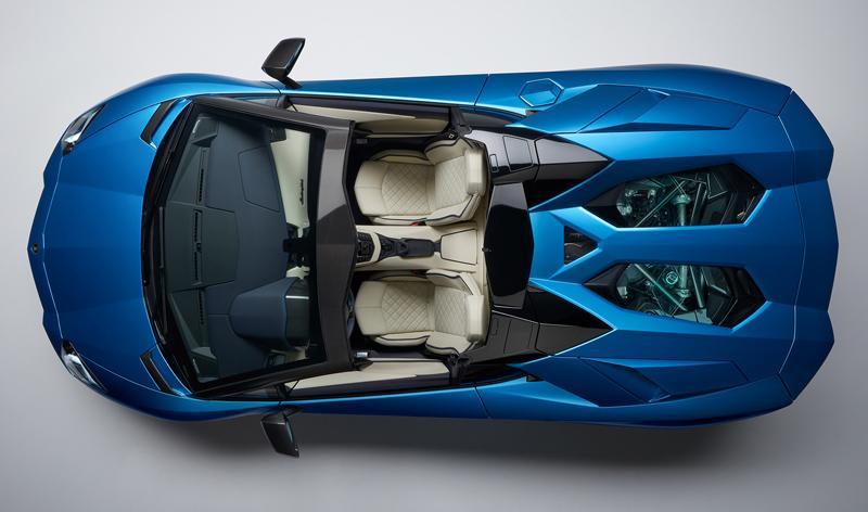 У концерна «Lamborghini» появились родстеры-купе Lamborghini Aventador S