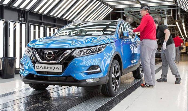 Концерн «NISSAN» запустил в серийное производство обновленную модель «QASHQAI»