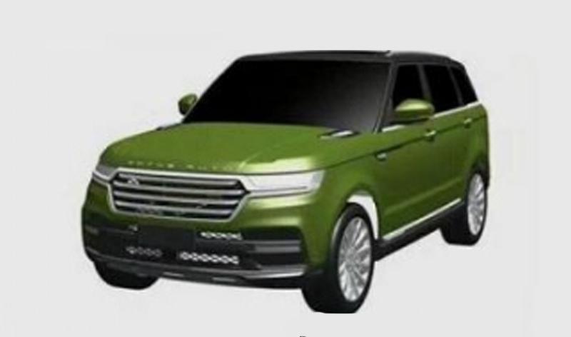 Новый китайский клон Land Rover – «Zotye»