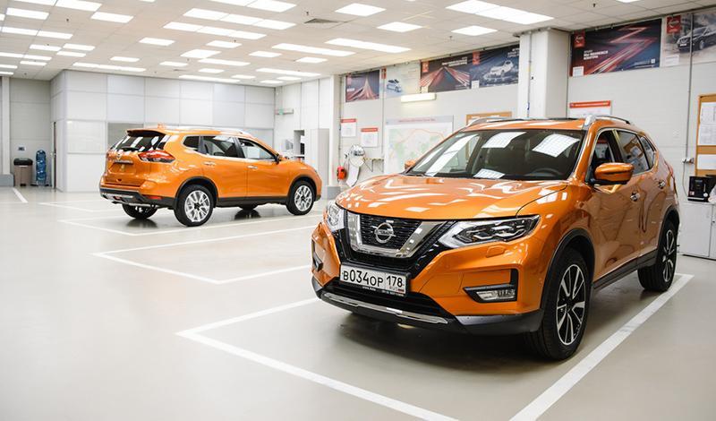 На заводе в Санкт-Петербурге стартовало производство нового внедорожника Nissan X-Trail