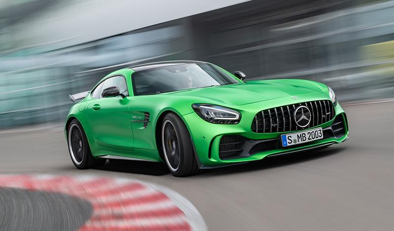Рестайлинг Mercedes-AMG GT купе