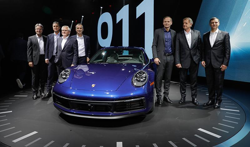 Porsche:О новом Porsche 911 2019 года