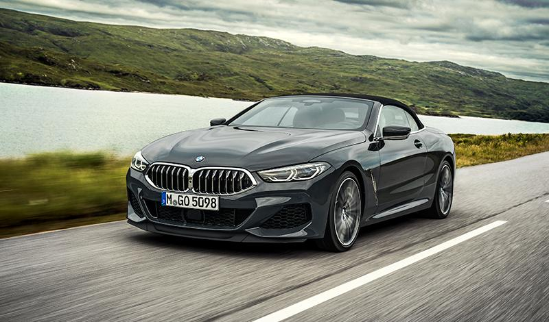 Представлен новый BMW 8 серии 2019 года в кузове Cabrio