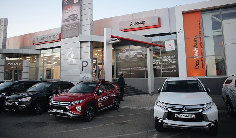 В Саратове прошло открытие нового дилерского центра Mitsubishi