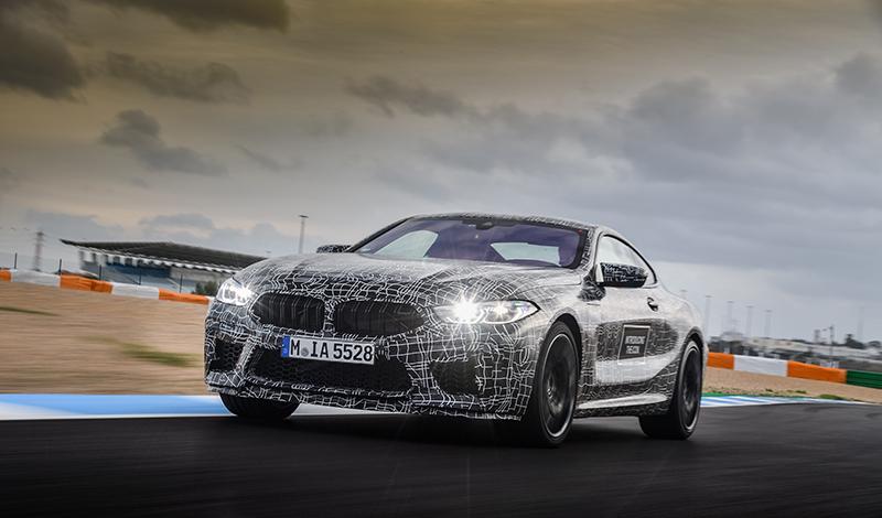 Новый BMW M8 Coupe проходит последние испытания перед серийным производством