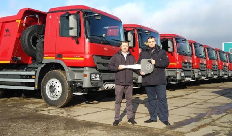 Компания Mercedes-Benz Trucks сформировала новый этап стратегического партнерств с компанией Wielton