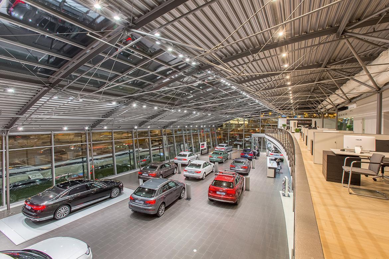 2, клиентам марки предложат полный спектр услуг по продаже и техническому  обслуживанию автомобилей Audi. Общая площадь нового дилерского центра ... c9c92d6d4ba