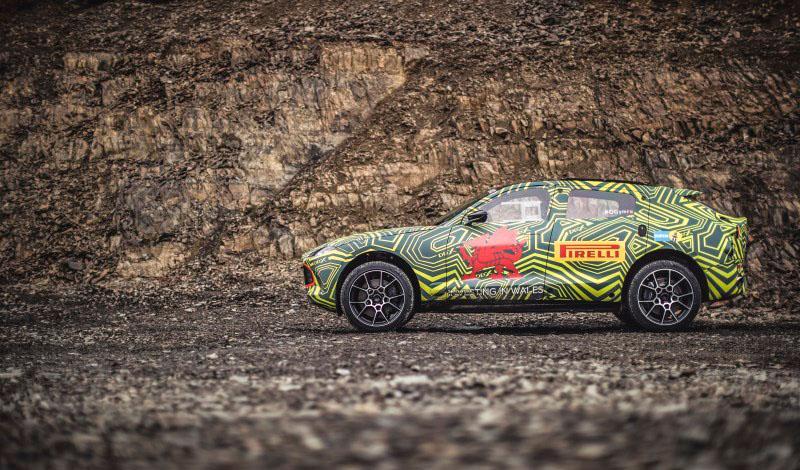 Aston Martin:Первый кроссовер ASTON MARTIN получит имя DBX