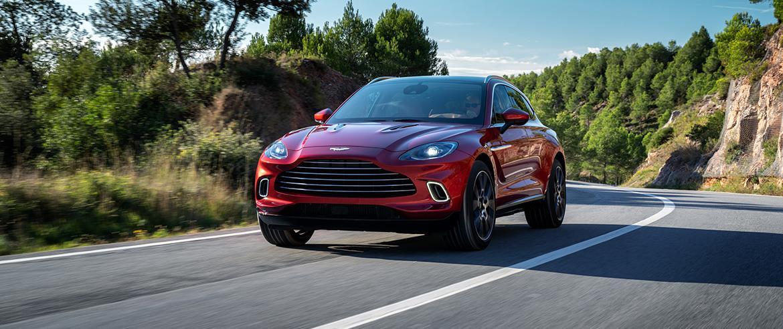 Aston Martin:Стала известна квота на новый DBX в России